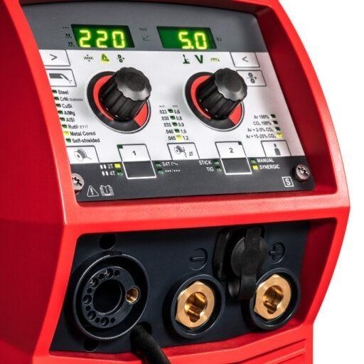 transsteel 2200 co aparat elektrojen argon invertor fronius